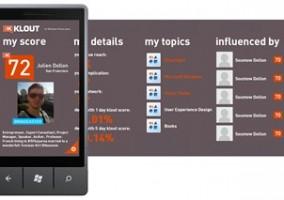 App Klout Score