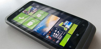 HTC Radar pantalla