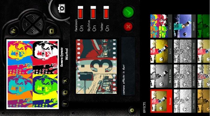 Camera Effects Capturas de pantalla