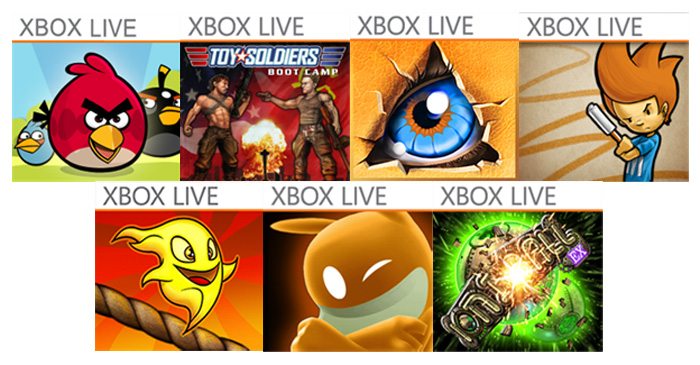 Juegos Xbox Live rebajados para Windows Phone