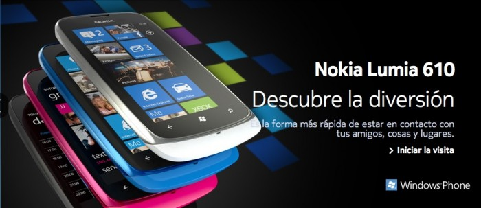 Nokia Lumia 610, el primer Windows Phone 7 con tecnologia NFC