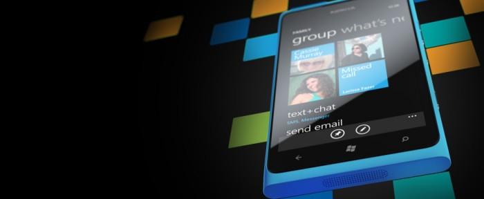 Nokia Lumia 900 Cián