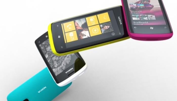 Renderizado de unos terminales Nokia con Windows Phone
