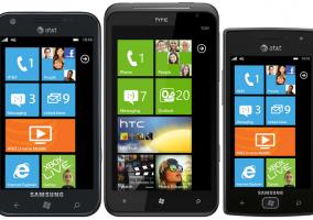 Samsung Focus S HTC Titan Samsung Omnia W