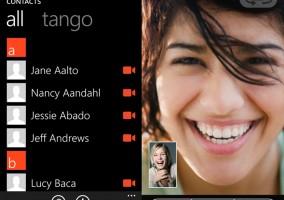 Tango saca nueva versión para Windows Phone