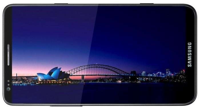 Samsung Galaxy S III, Vista Horizontal