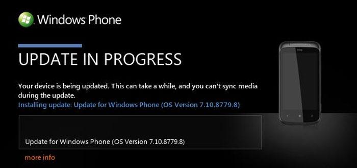 Actualización HTC 7 Mozart desde Zune