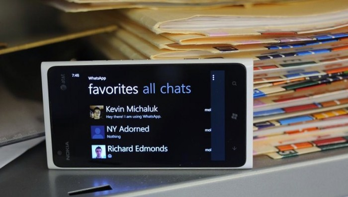 Windows Phone WhatsApp 2.0