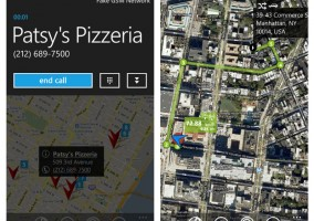 gMaps Windows Phone