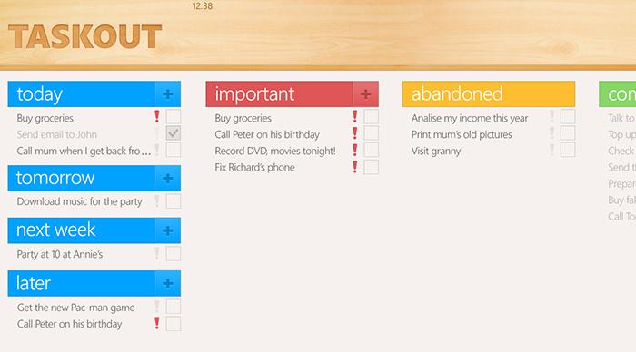 Taskout App