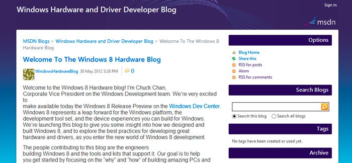 Artículo erróneo del lanzamiento de Windows 8 Release Preview