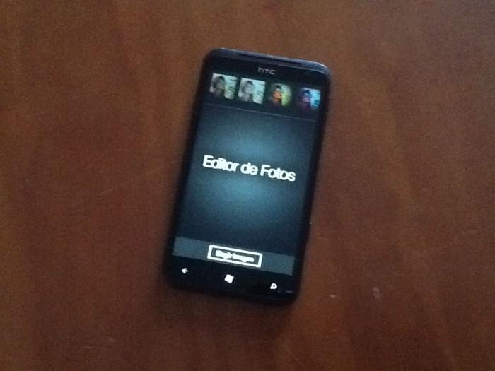 Editor de fotos de HTC