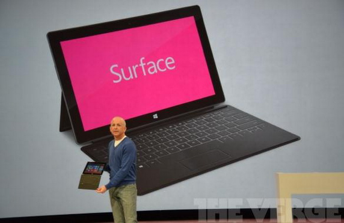 Microsoft Surface para Windows 8 Pro