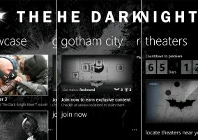 App The Dark Knight Rises