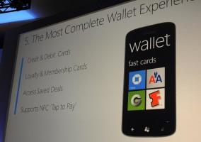 Wallet en Windows Phone 8