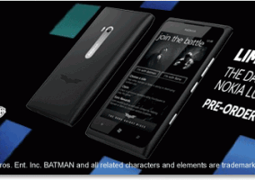 Nokia Lumia 900 The Dark Knight Rises Edition