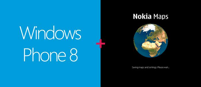 Windows Phone 8 Nokia Maps