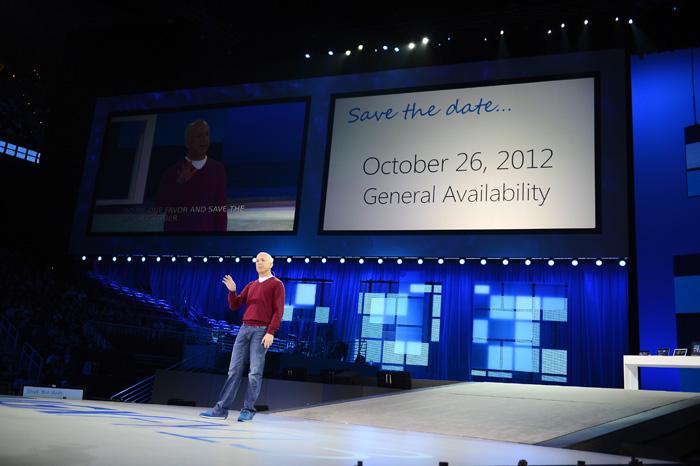 Fecha de venta de Windows 8