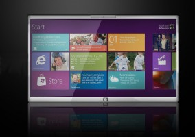 Diseño de futuro tablet con Windows 8