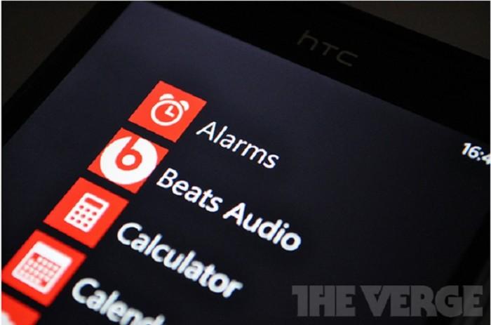 Los teléfonos de HTC con Windows Phone 8 tendrán Beats Audio