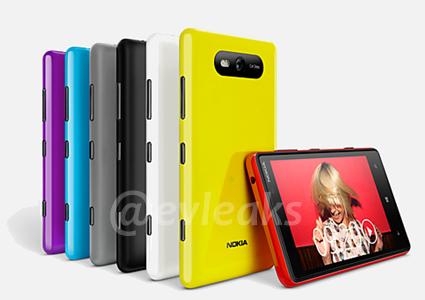 Sale filtrado supuestamente el diseño de los futuros Nokia Lumia 820, 920 y del HTC Accord