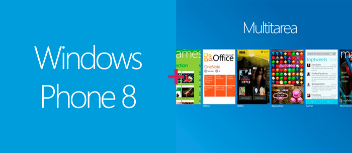 Windows Phone 8 Multitarea