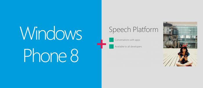 Windows Phone 8 Plataforma de reconocimiento de voz