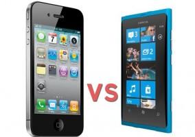 iPhone-vs-Nokia Lumia