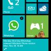 Primeras imágenes filtradas de WhatsApp para Windows Phone 8