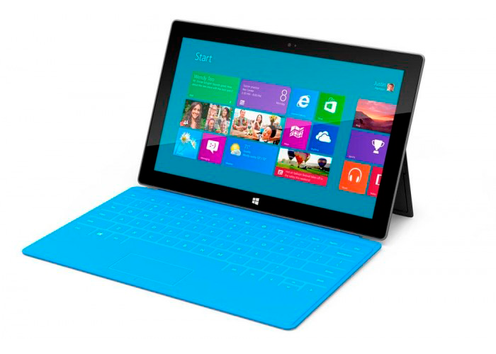 Microsoft Surface, la tablet de Microsoft con Windows 8
