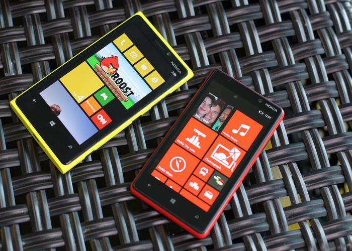 Precios Nokia Lumia 920 y 820