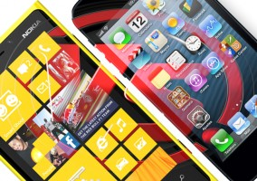 Comparativa iPhone 5 vs Nokia Lumia920 smartphone