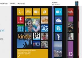 Nuevo site windows phone