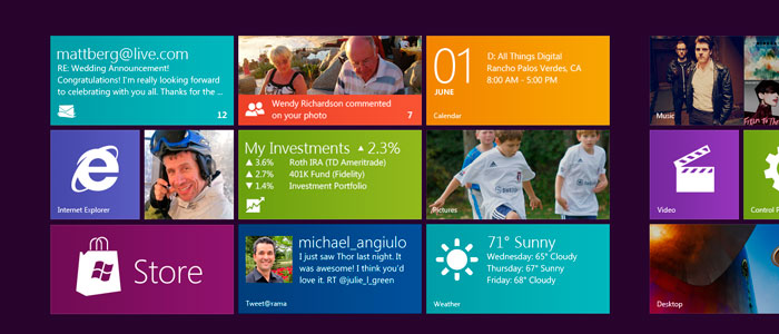 Windows 8 | Live Tiles