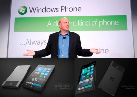 Steve Ballmer insinúa la posibilidad que Microsoft lance su propio smartphone