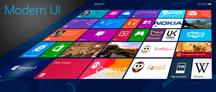 Windows 8 | La revolución del diseño con Modern UI