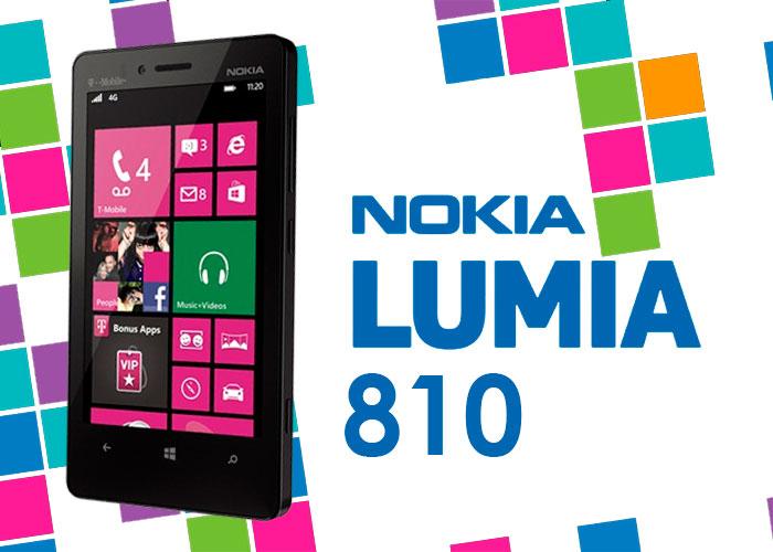Nokia Lumia 810 en exclusiva para T-Mobile