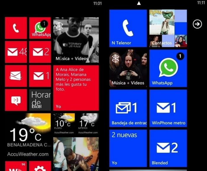 Windows Phone 7.8 vs Windows Phone 7.5
