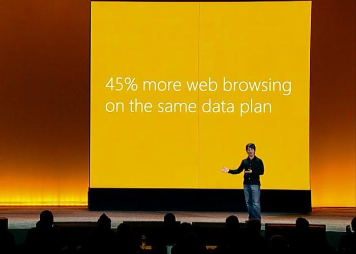 Windows Phone 8: Data Sense te permitirá navegar un 45% más con tu mismo plan de datos