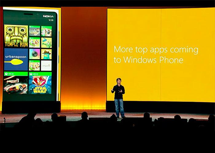 Windows Phone 8 con los mejores juegos