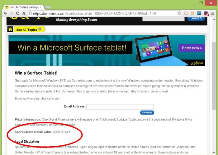 Filtrado precio Microsoft Surface RT costará menos de 350 dólares
