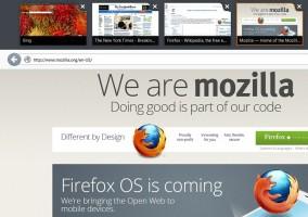 Versión preview de Firefox adaptado a interfaz Metro