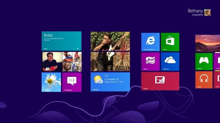 Anuncio de Windows 8
