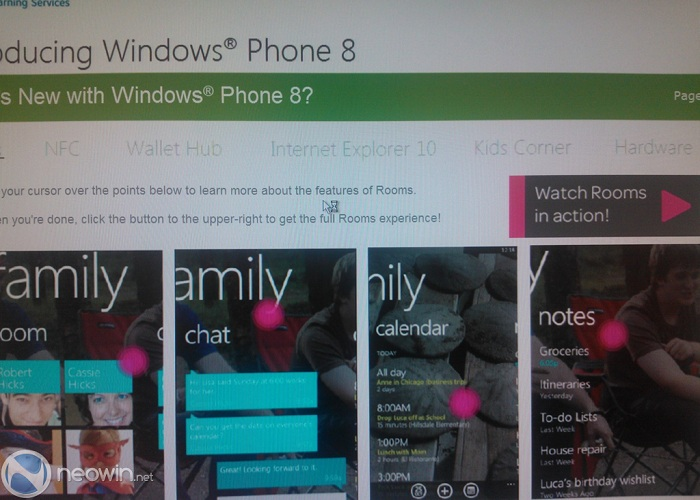 Formación sobre Windows Phone 8 - Rooms