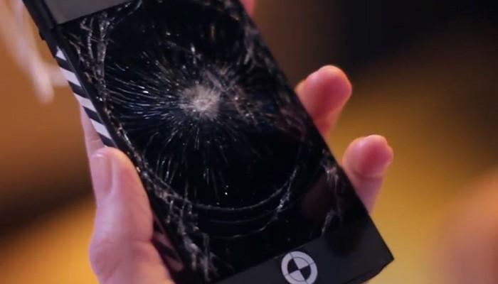 Desconocido smartphone sujeto de las pruebas
