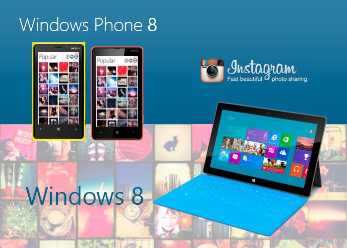 Instagram para Windows 8 y Windows Phone 8