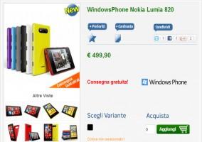 Nokia Lumia 820 Italia
