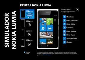 Simulador Nokia Lumia en Facebook