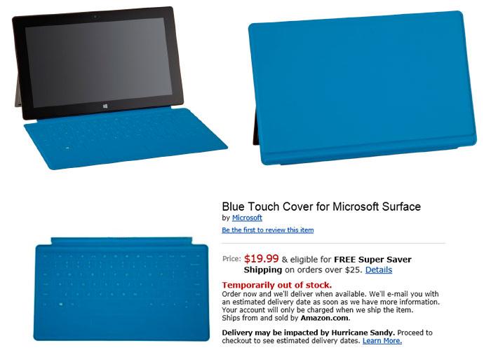 Amazon ofrece el teclado Touch Cover de Surface por tan solo 19,99$