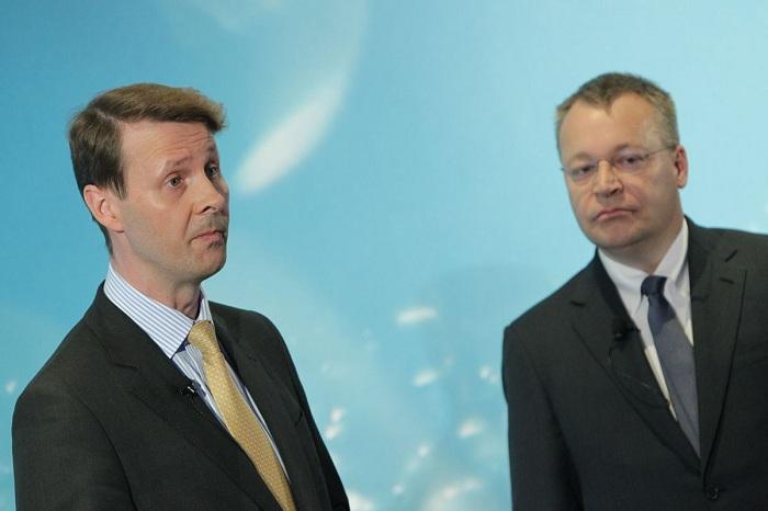 Risto Siilasmaa y Stephen Elop